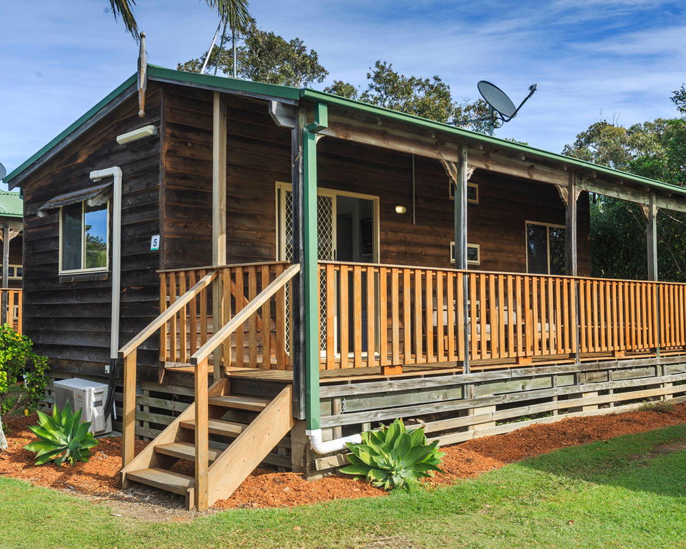Cabin at Nambucca Heads caravan park