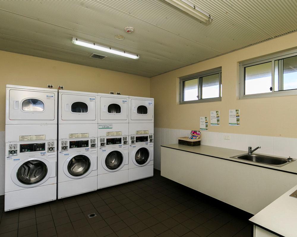 :aundry facilities at Lake Ainsworth caravan park Lennox Head