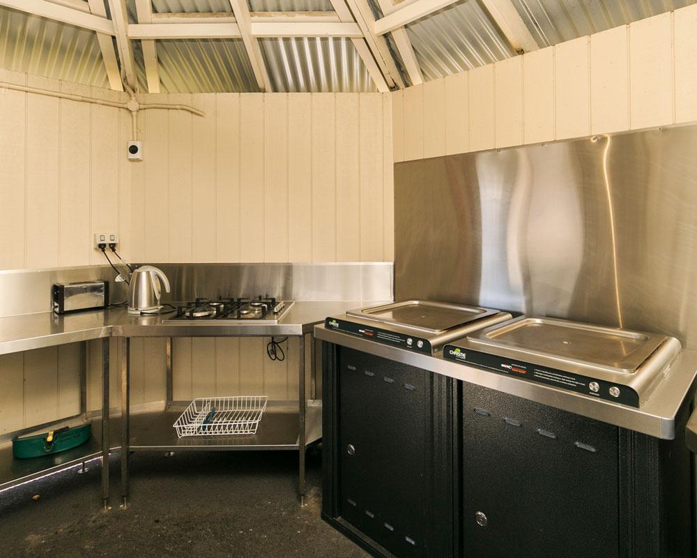 Ballina caravan park BBQ facilities