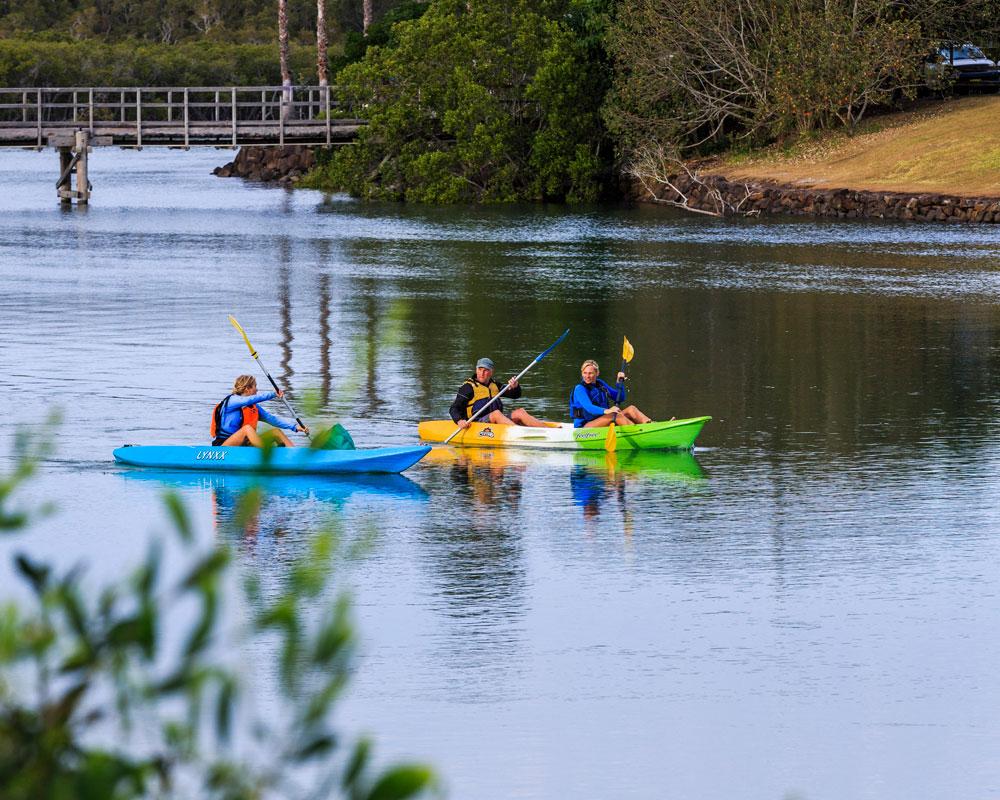 Kayaking - Terrace Reserve caravan park