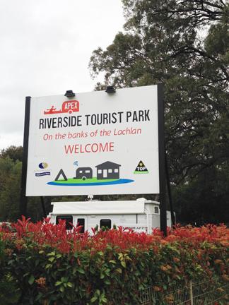 Apex Riverside Tourist Park