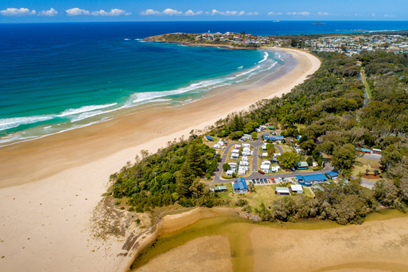Woolgoolga Lakeside Holiday Park
